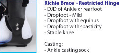 Richie Brace - Restricted Hinge