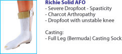 Richie Solid AFO