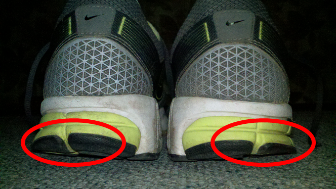 Running Shoe Wear Pattern